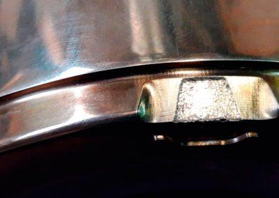 Reparación soldadura láser